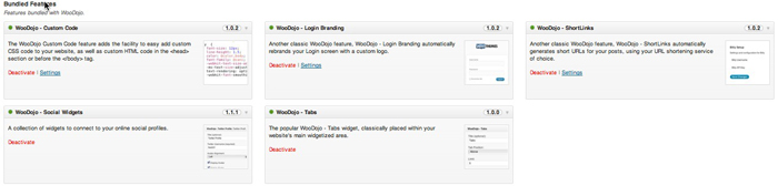 WooDojo Plugin from Woothemes
