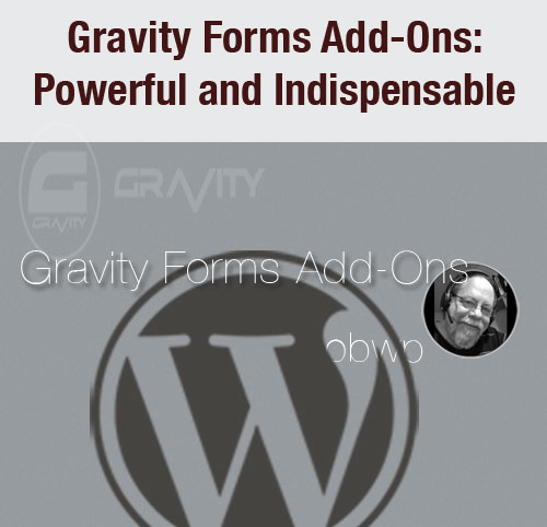 Gravity Forms Add-Ons: Powerful and Indispensable
