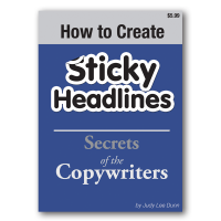 how to create stick headlines