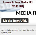 Media Item URL plugin for WordPress