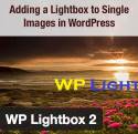 wp lightbox 2 plugin for images